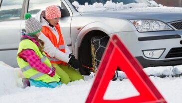 Zimowe akcesoria do samochodu