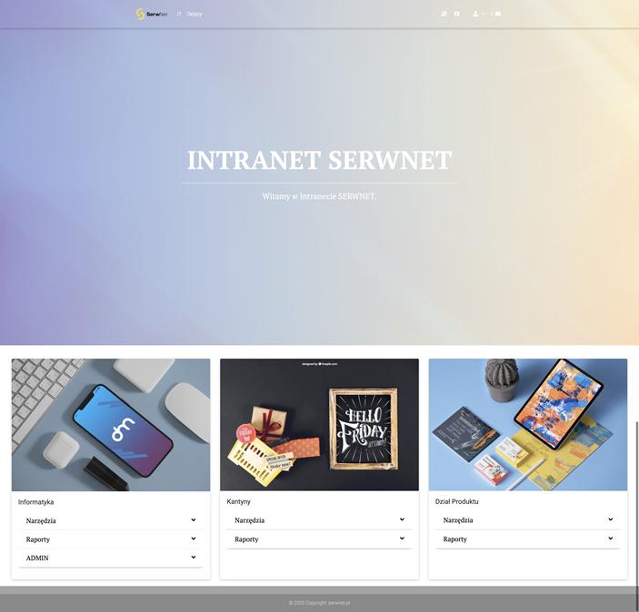Intranet SerwNet